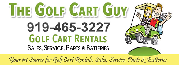 The Golf Cart Guy: Reserve your golf cart rental for the event